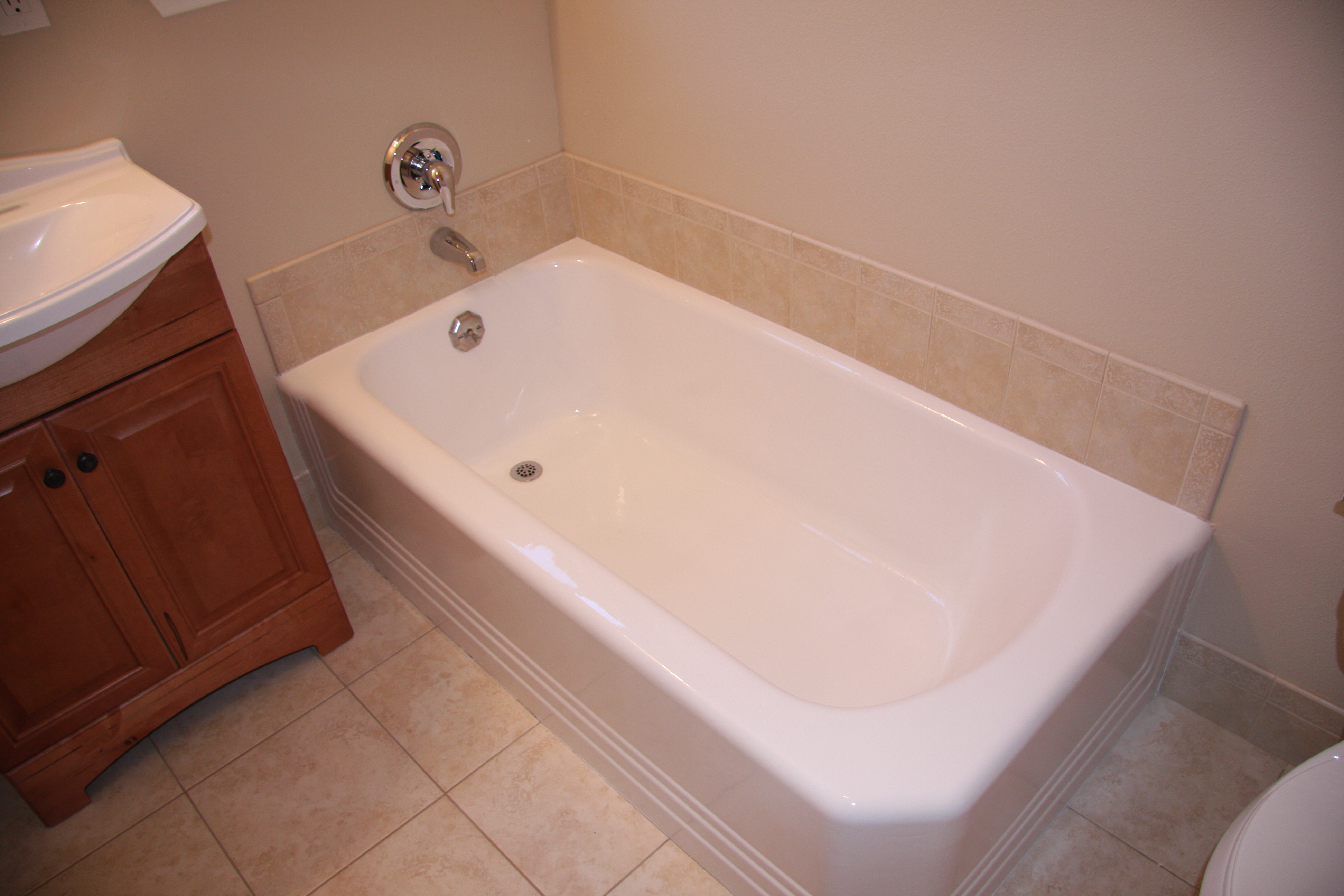 Bathroom remodeling services l l construction services inc for Bathroom remodeling services